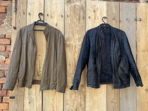 Skórzane kurtki i płaszcze