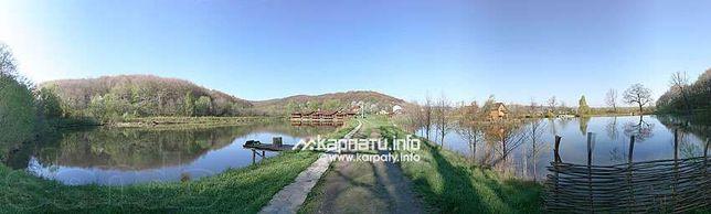 """база отдыха""""Цисарское Урочище""""действующая с озерами в Карпатах"""