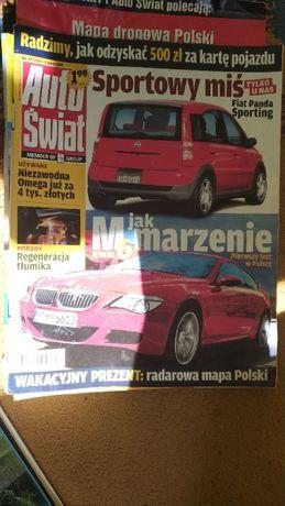 Czasopismo Auto Świat - pojedyncze numery 1995; 1996; 2005; 2006