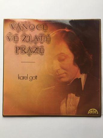 Karel Gott Vanoce Ve Zlate Praze- płyta winylowa
