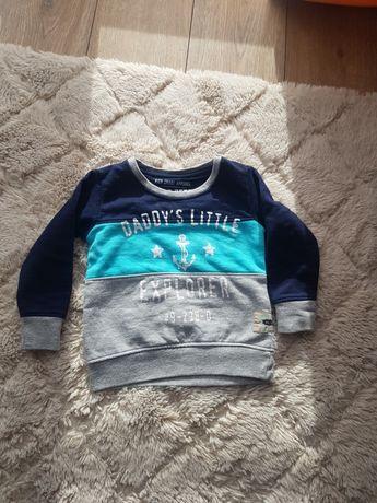Nowa bluza dla chłopca 9-12 mc (74-80)