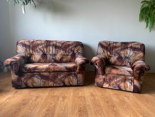 Fotele - komplet, ze schowkami
