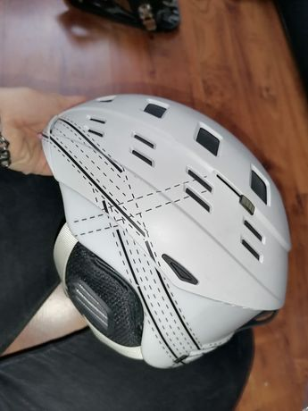 Kask narty snowboard