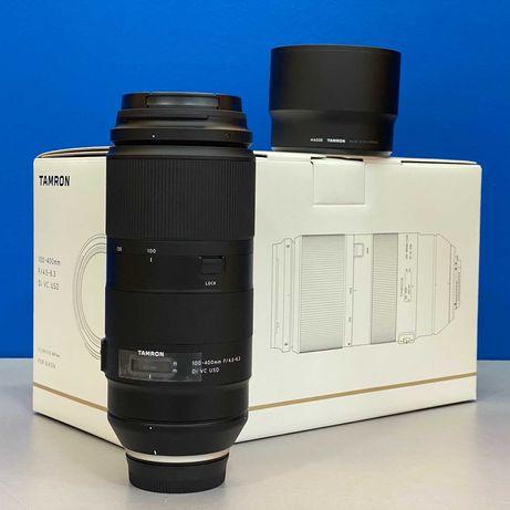 Tamron 100-400mm f/4.5-6.3 Di VC USD (Nikon) - 5 ANOS DE GARANTIA
