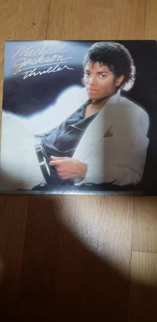 Vendo dois discos de vinil do Michael Jackson