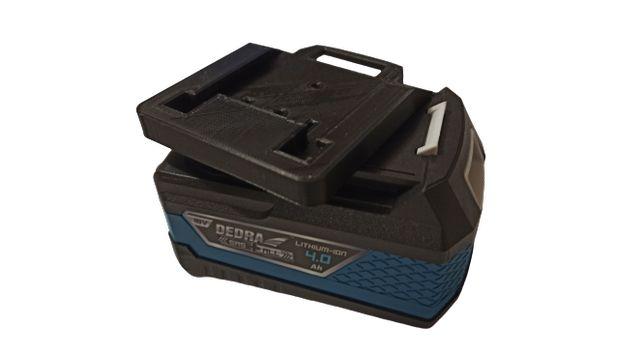 Adapter do baterii z serii DEDRA 18V SAS+ALL