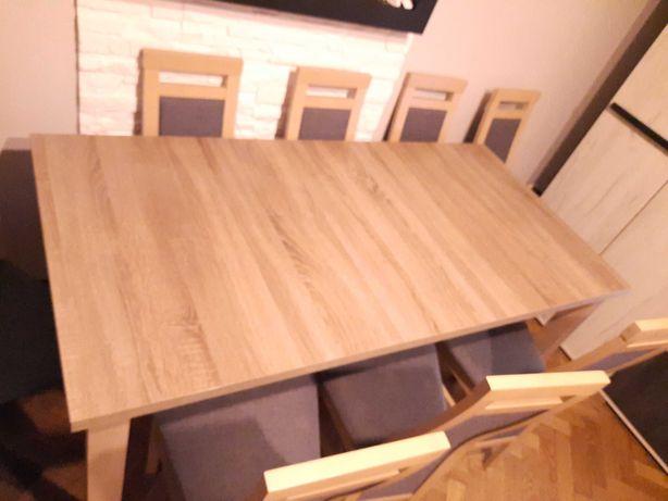 Stół i krzeseł 8 sztuk