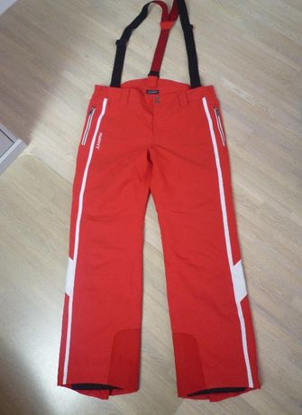 Spodnie narciarskie na szelkach firmy Schoffel r.52 kolor czerwony
