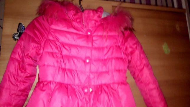 Пуховик куртка курточка осень зима для девочек