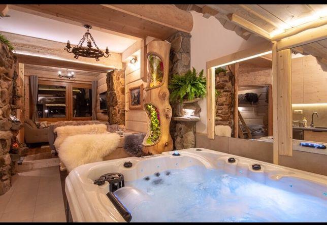 Luksusowy apartament z prywatnym jacuzzi dla 4osób ! 2sypialnie