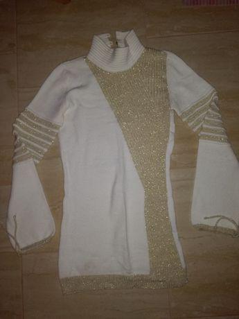 Nowy ,elegancki sweter,golf L-