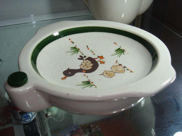 Ceramika Schramberg SMF podgrzewany talerz dziecięcy UNIKAT