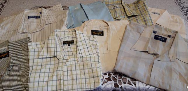 8 koszul męskich L M XL