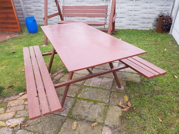 Ławostol, stolik ogrodowy ławka