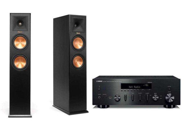 Yamaha R-N602 + Klipsch RP-260F - zestaw stereo