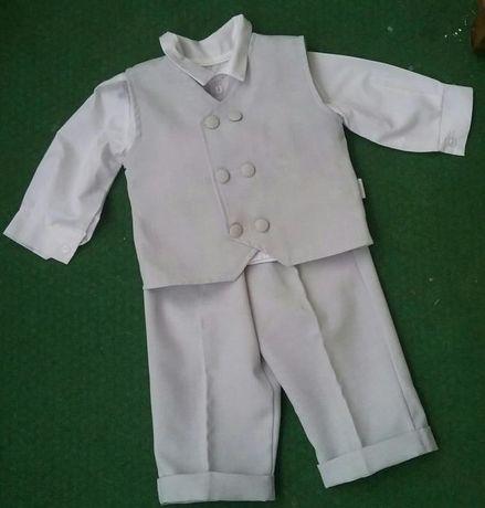 Komplet ubranko do chrztu , na chrzest dla chłopca rozm.68