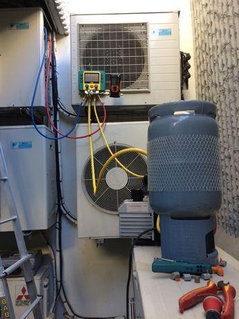 Manutencao de unidades de climatizacao