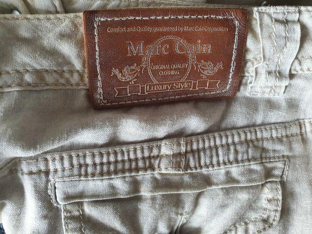 MARC CAIN Marccain 100% len spódnica n4 L