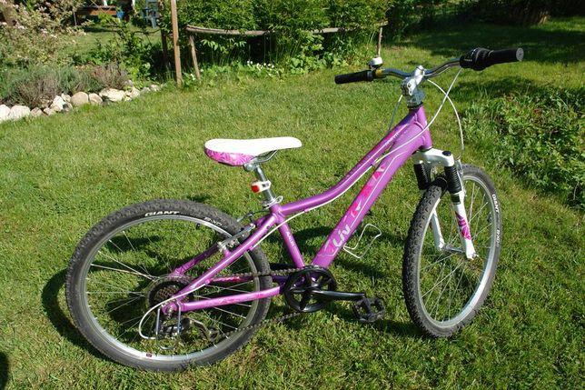 GIANT AREVA L 24 dla dziewczynki + dodatkowe wyposażenie