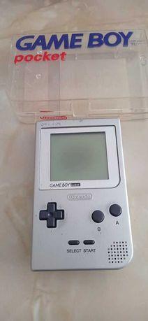 Game Boy Pocket + Caixa + 5 Jogos