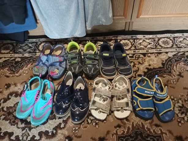Обувь кроссовки, босоножки, туфли, тапки , сменка в сад