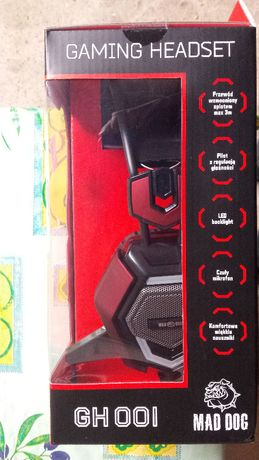 Słuchawki Gaming Headset GH 001. Nowe.