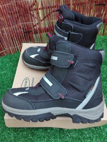 Buty zimowe chłopięce rozmiar 35