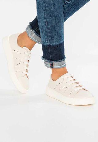 Buty 37 Camper lato jasne białe trampki sneakersy damskie