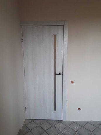 Двері Глорія екошпон в Тернополі, безкоштовні врізка, ручка, завіси