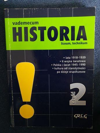 Vademecum Historia liceum, technikum - część 2