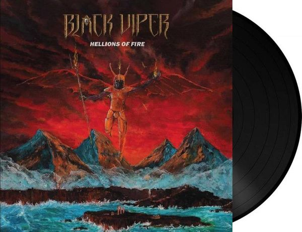 Black Viper - Hellions Of Fire LP (Black Vinyl Lim. 200)