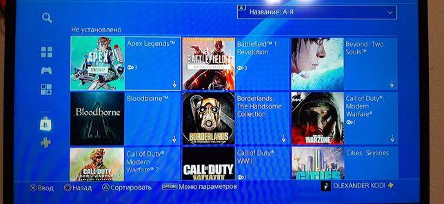 Аккакнт для PlayStation 4