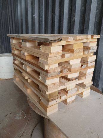 Mini paletes em madeira