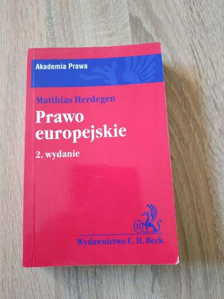 Prawo europejskie 2 wydanie, Matthias Herdegen, c.h. beck