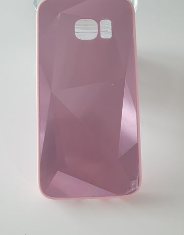 Silikonowe 3D etui do Samsung Galaxy S7 w kolorze różowym