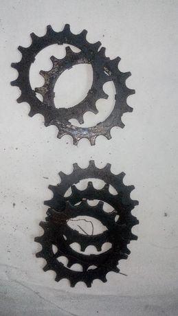 Звездочка задняя 17 зубьев для велосипеда «Турист»