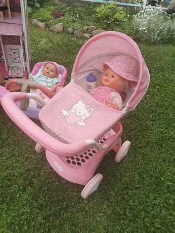 Wózek dla lalek, nosidełko , lalki