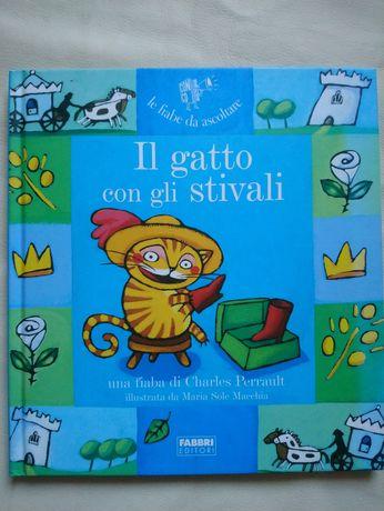 Книга IL gatto con gli stivali на італійській мові