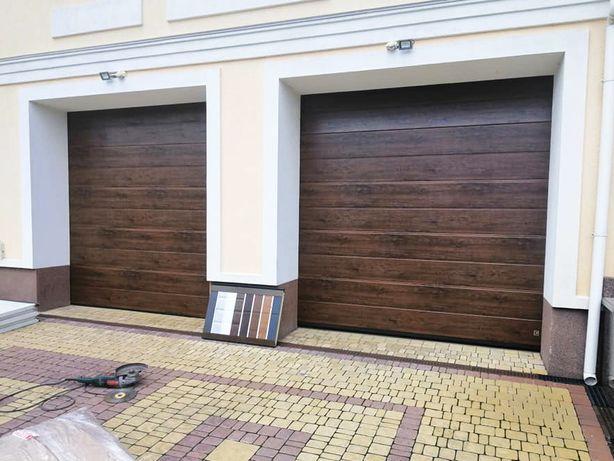 Секционные ворота на гараж. Гаражные ворота секция - монтаж, гарантия