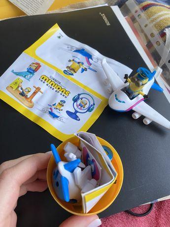 Игрушка из Киндер Макси Миньоны 2020 / Kinder Maxi Minions