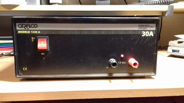 Fonte de Alimentação GRELCO 1330 A - 30 Amperes Radioamador CB