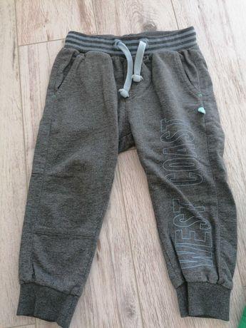 Spodnie chlopiece dresowe 92 coccodrillo