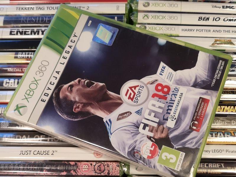 FIFA 18 PL Xbox 360 (możliwość wymiany)