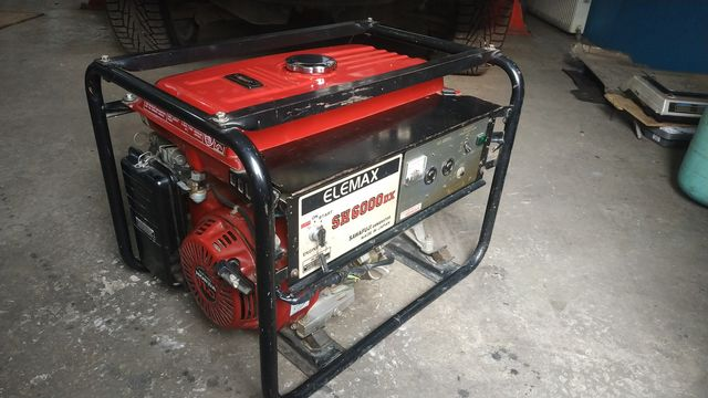 Продам б/у генератор бензиновый Honda Elemax SH-6000 DX