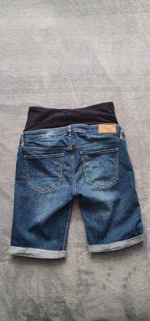 Ciążowe krótkie spodenki H&M roz. 40