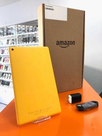 """Amazon Kindle Fire 8"""" 2018 8ª Geração 1,5GB 32GB Amarelo A - Garantia"""