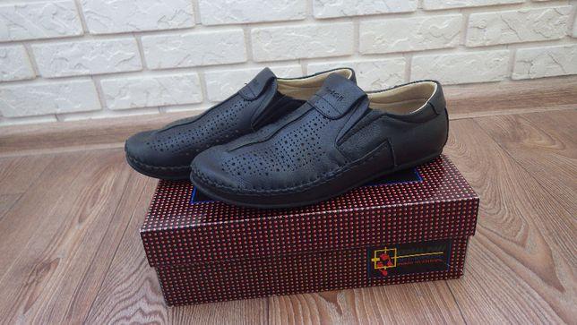 Туфли детские школьные для мальчика Kemal Pafi размер 36