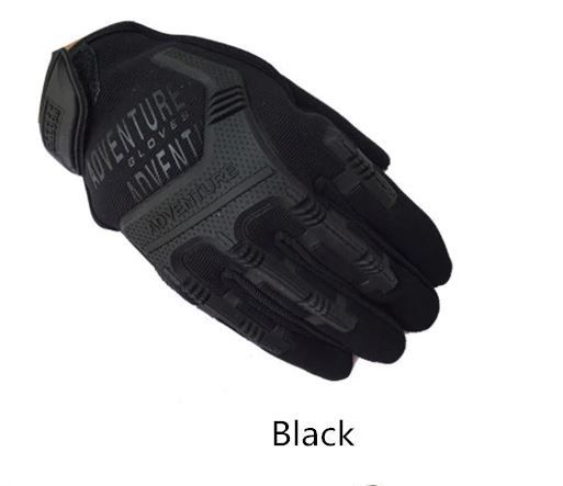 sportowe rękawice taktyczne wojskowe kolor czarny