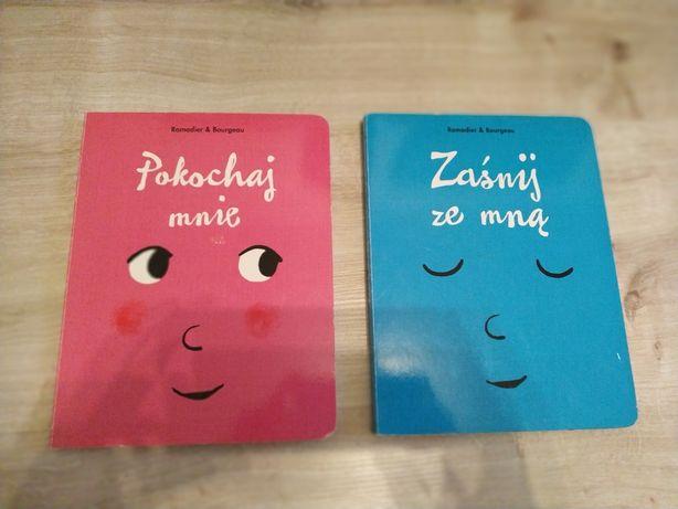 Zaśnij ze mną ; Pokochaj mnie interaktywne książki dla dzieci Ramadier