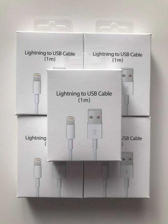 Kabel lightning 1m Ładowarka iPhone 5 6 7 8 11 X Xs Xr 12